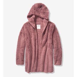 Victoria's Secret PINK Sherpa Cardigan. Size M/L